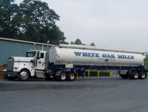 White Oak Mills Feed Truck