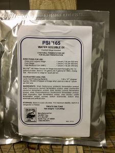 PSI 165 5X water soluble pack